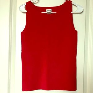 Chico's Red Knit Top Size 0